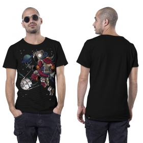"""Space Koala\"" t-shirt, Black"