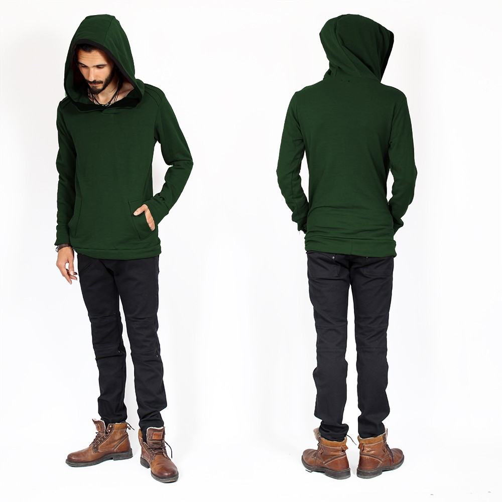 "\""Sphynx\"" sweater, Green"