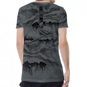 "\""Stone Island\"" t-shirt, Mottled grey"
