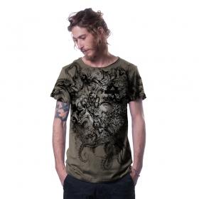 "\""Stoned\"" t-shirt, Stone"