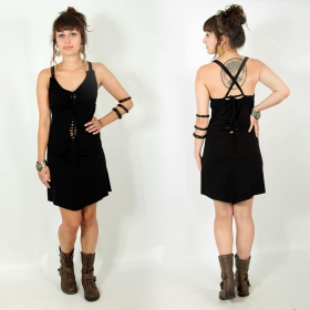 "\""Sukhomey\"" dress, Black"
