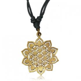 "\""Sunflower\"" necklace"