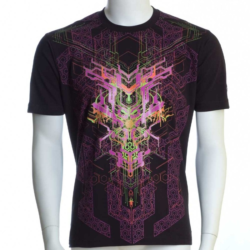 "\""Superforce\"" UV t-shirt, Black"