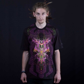 """Superforce\"" UV t-shirt, Black"