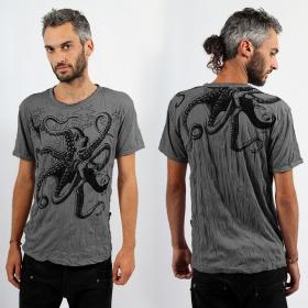 "Sure \\\""Octopus\\\"" T-shirt, Dark grey"