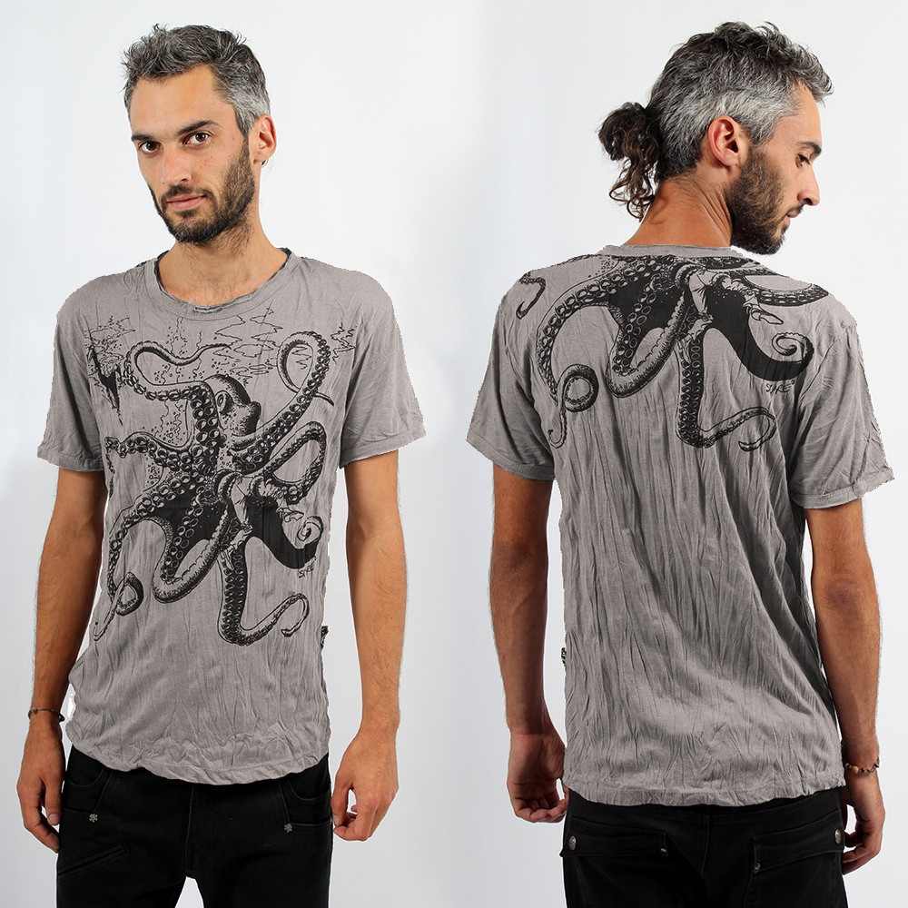 "Sure \""Octopus\\\"" T-shirt, Mole"