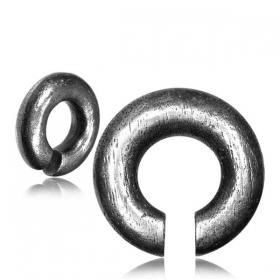 "\\\""Suryo Pali\\\"" white brass ear jewel/weight"