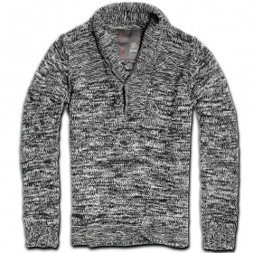 "Sweater surplus \""foster mountain\\\"", black-grey"