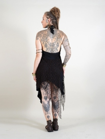 ""\""""Syrada"""" 2in1 Skirt/Tunic, Black with brown lace""211|280|?|en|2|2ed5b3cd5692cf0ca2903826e9ccf609|False|UNLIKELY|0.29641735553741455