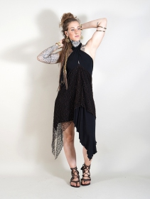 ""\""""Syrada"""" 2in1 Skirt/Tunic, Black with brown lace""211|280|?|en|2|4974a23ea5cbd6e6d8f9d50e776feca1|False|UNLIKELY|0.2873629927635193