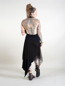""\""""Syrada"""" 2in1 Skirt/Tunic, Black with brown lace""211|280|?|en|2|60929f2fca6dd02d9d85f1474dec0cba|False|UNLIKELY|0.2974165976047516