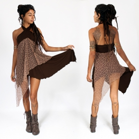 ""\""""Syrada"""" 2in1 Skirt/Tunic, Brown with brown lace""280|280|?|en|2|4f0d46f84b6fb461b697570c5bf20386|False|UNLIKELY|0.30818572640419006