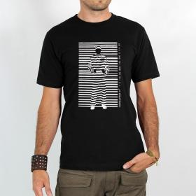 """T-shirt \""""consumer prisoner\"""", black"""
