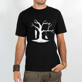 "T-shirt \""death versus play\"""