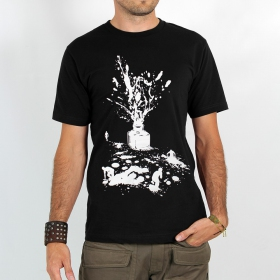 "T-shirt ""ink\"", black"