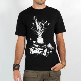 "T-shirt \""ink\"", black"