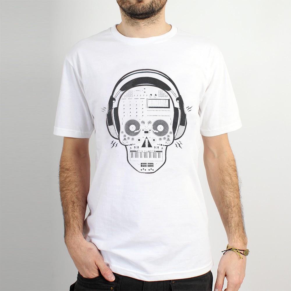 "T-shirt \""liveset skull\"""