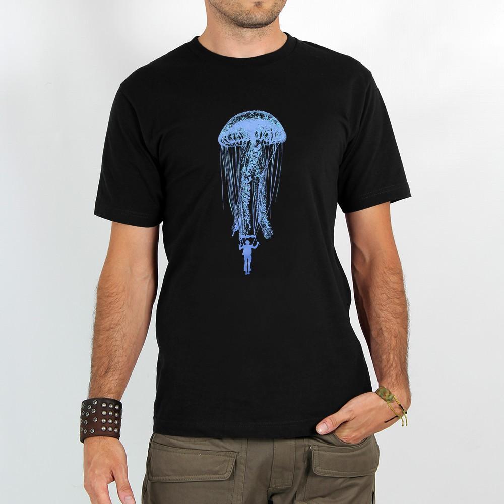 """T-shirt \""""medusa parachute\"""""""