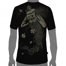 "T-shirt \\\""nexus\\\"", black size s"