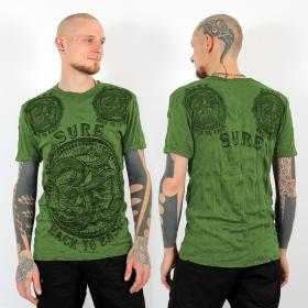 "T-shirt \\\""Ohm\\\"", Green"