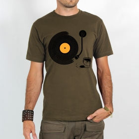 "T-shirt ""record painter\"""