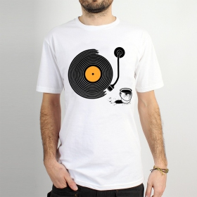 "T-shirt \""record painter\"""