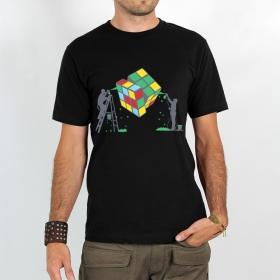 """T-shirt \""""rubik\'s cube graffiti\"""""""