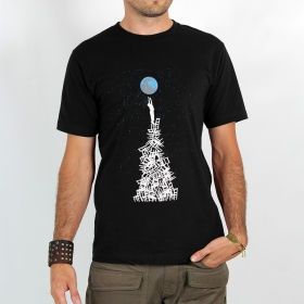 "T-shirt ""touch the earth\"""