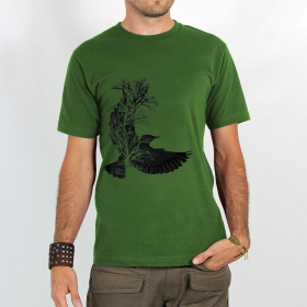 "T-shirt ""tree crow\"""