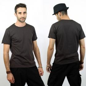 """T-shirt \\\""""woonwai\\\"""", charcoal grey"""