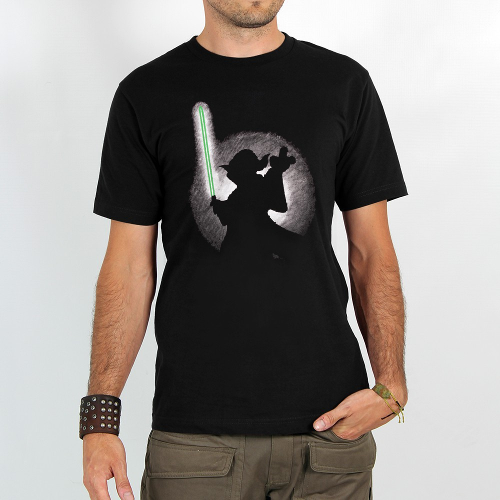 "T-shirt ""yoda shadow\"""