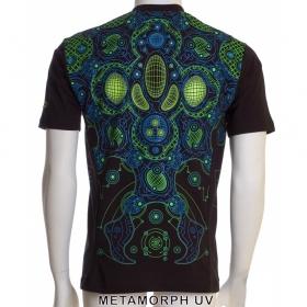 "T-shirt 3D Public Beta \""Metamorph\"", Black"
