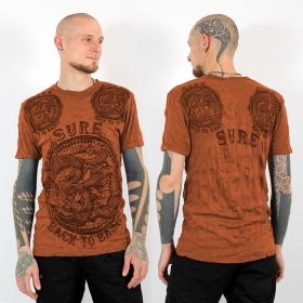 T-shirt ohm orange