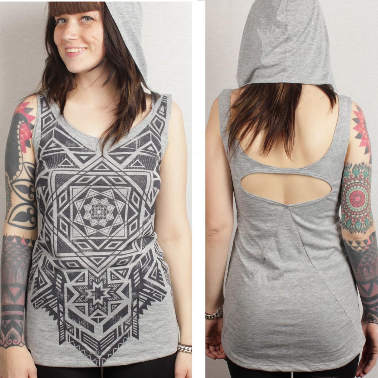 "T-shirt plazma \\\""lakshmi\\\"", grey"