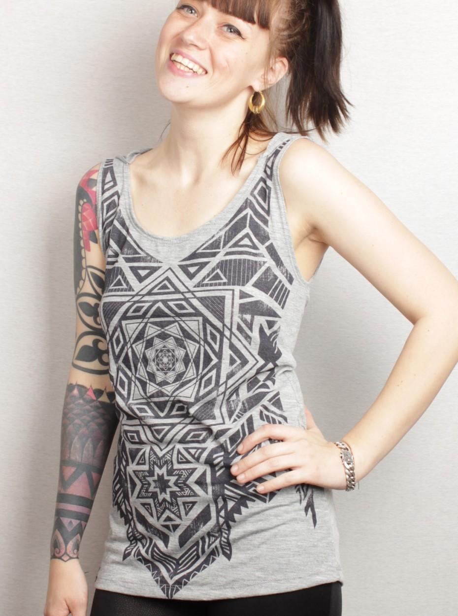 "T-shirt plazma \\\""lakshmi\\\"", rusty"