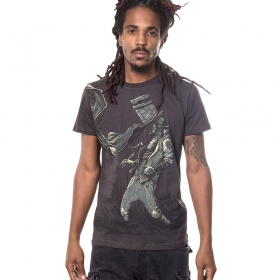 "T-shirt PlazmaLab \\\""Connecting the dots\\\"", Dark Grey"