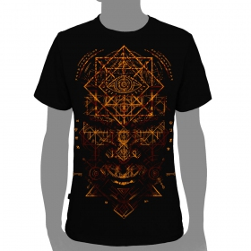 "T-shirt plazmalab \""emet\\\"", black"