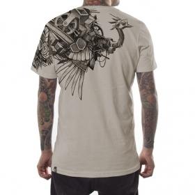 """T-shirt PlazmaLab \""""Ostrich\"""" Sand"""