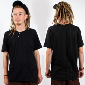 "T-shirt psylo \""serial tee\\\"", black"