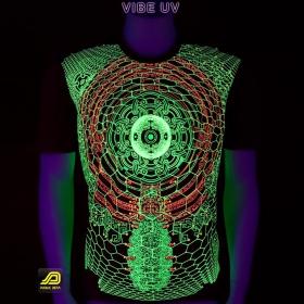 "T-shirt UV Public Beta \""Vibe UV\"", Black"