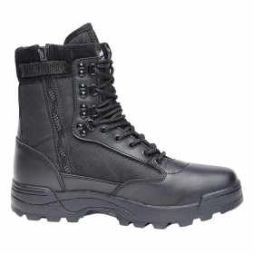 """Tactical Zipper\"" boots, Black"