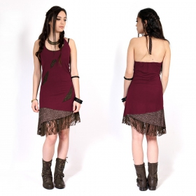 """Tarmy\"" dress, Wine"