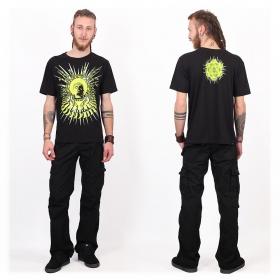 """Tee shirt Shaman \""""Buddha DMT\"""", Black"""