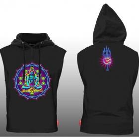 """Tee Shirt Shaman \""""Shiva Yantra\"""", Black"""