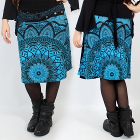 """Thaalee\"" skirt, Blue"