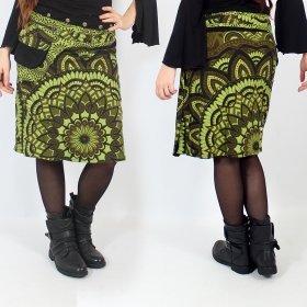 """Thaalee\"" skirt, Green"