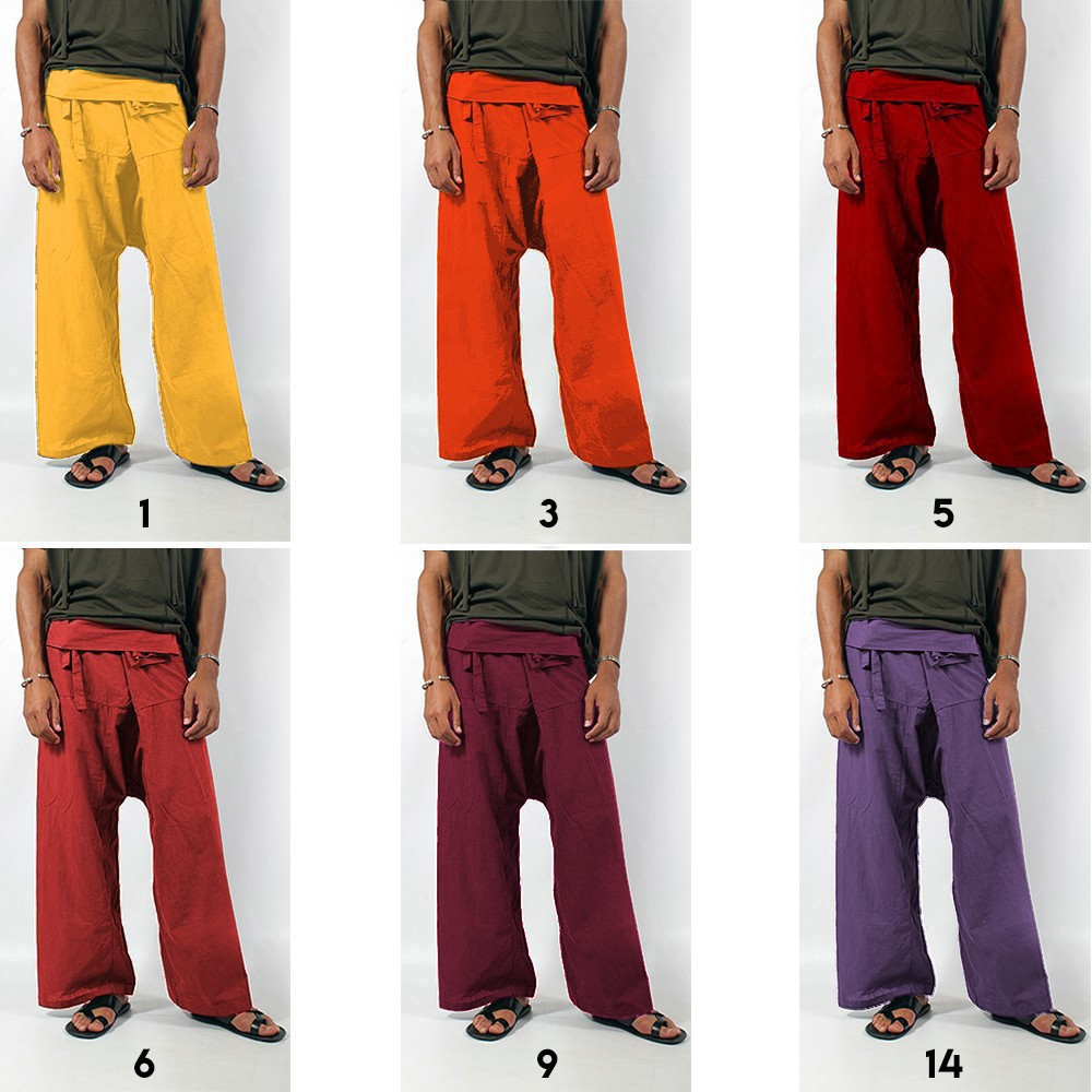 """Thaï\"" Fishermen Pants, Many colours available"