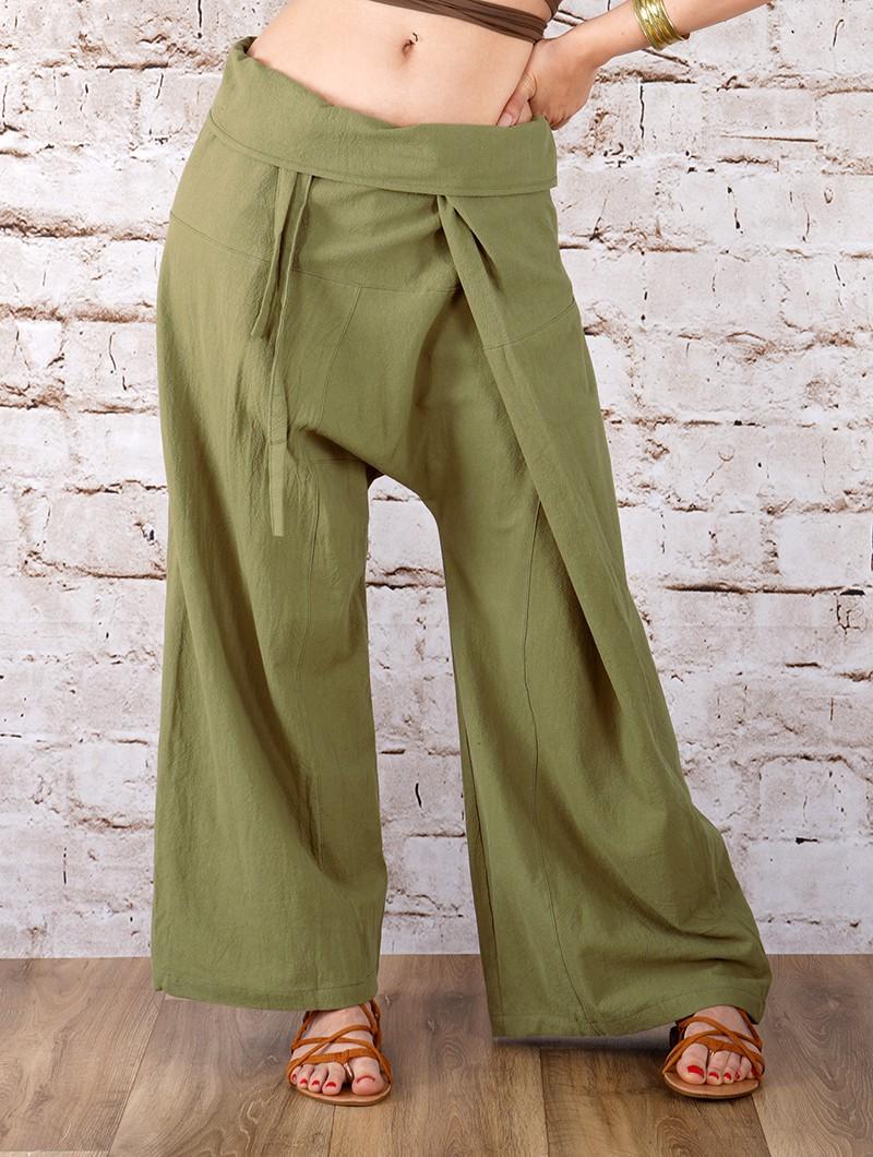 "\""Thaï\"" Gender neutral Fishermen Pants, Many colours available"