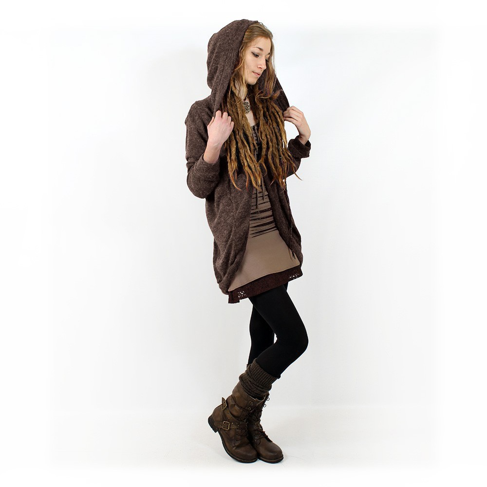 "\""Thin Shandili\\\"" Witch pullover, Chocolate"