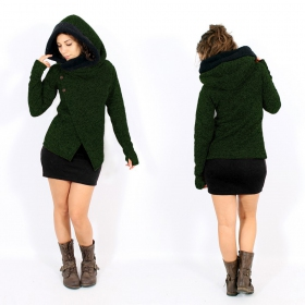 "\""Tibba\\\"" Coat, Green"